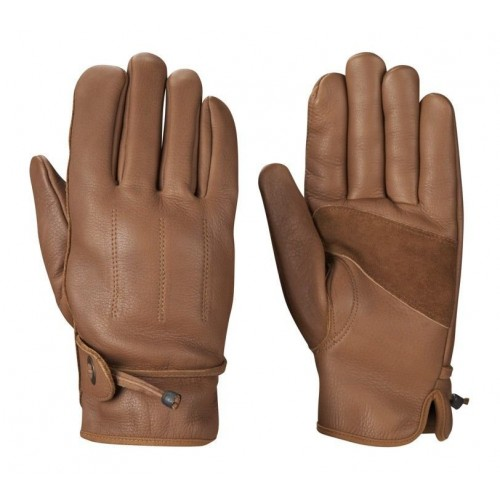 52dfd967f0325 Leather Rider Men Classic Motorcycle Brown Leather Gloves