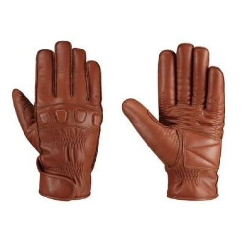 4655968fe0f7c Leather Rider Ergo Motorcycle Brown Leather Gloves